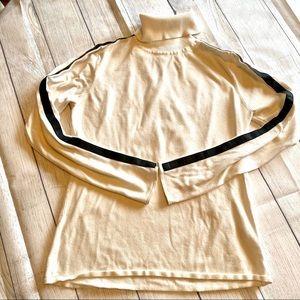 Sporty Calvin Klein turtleneck sweater